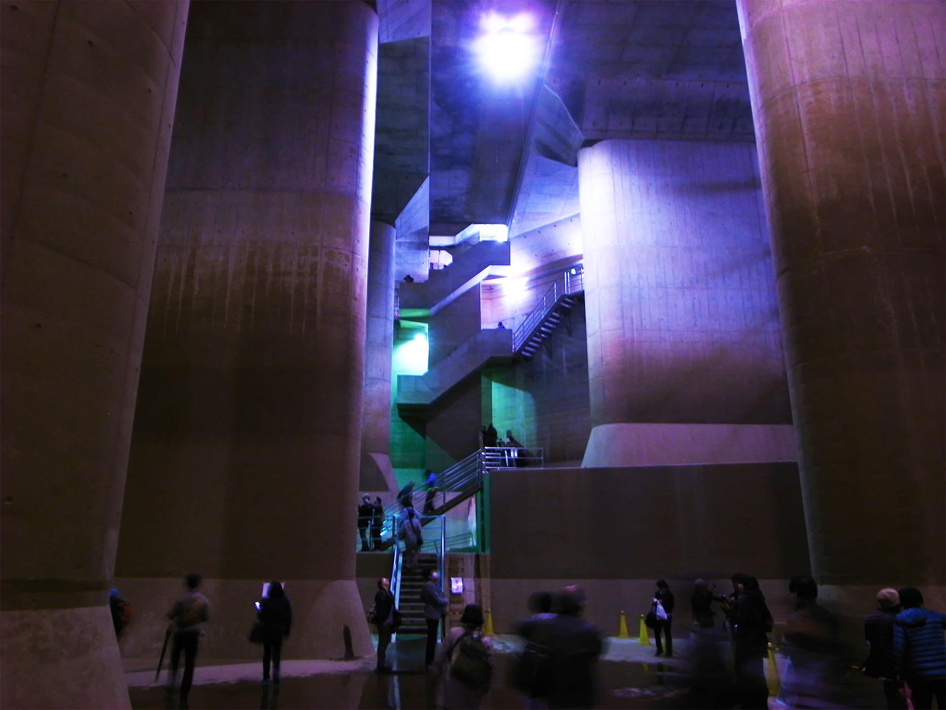 首都圏外郭放水路 / 庄和排水機場見学 / 2015年11月