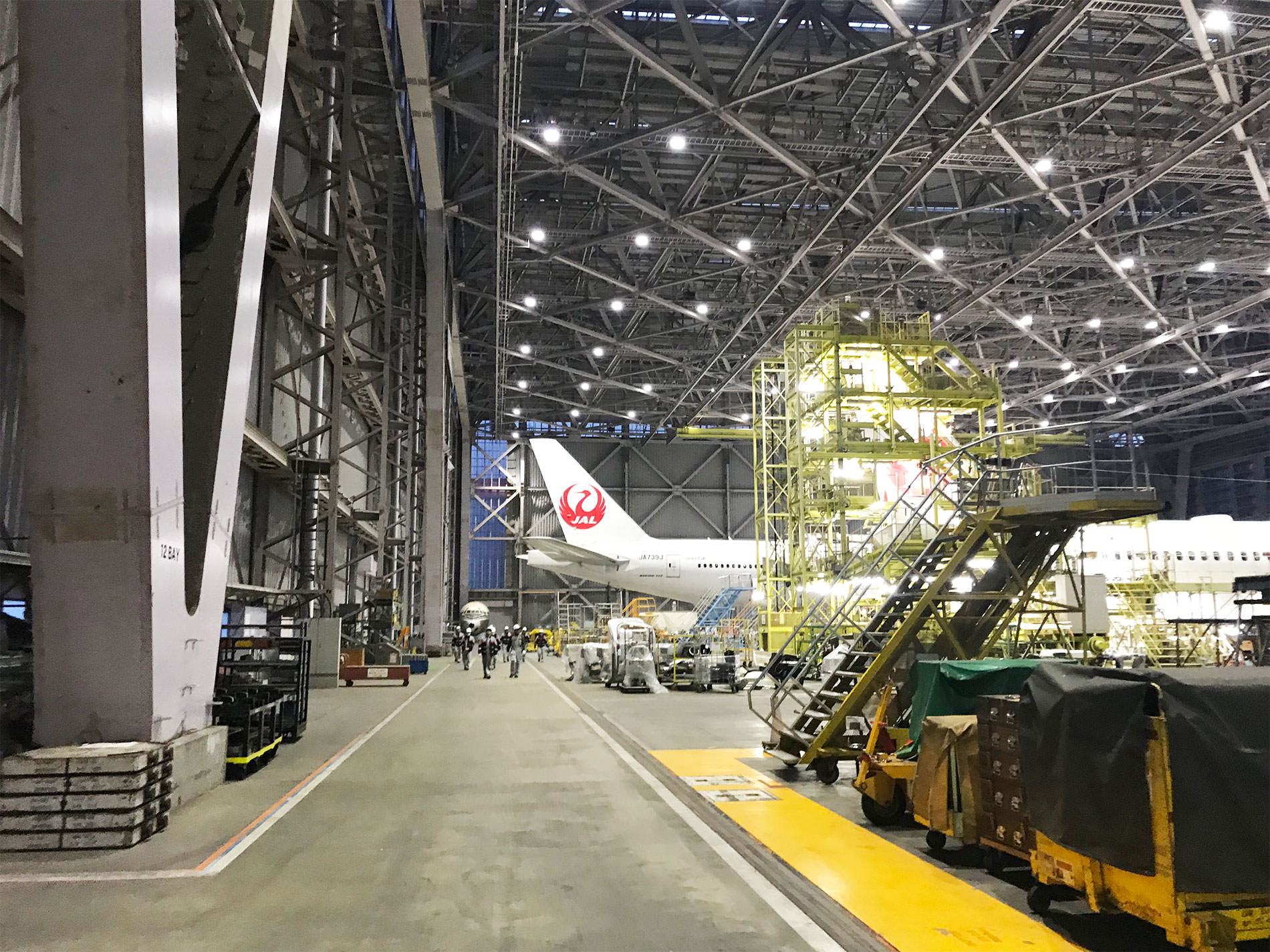 JAL 工場見学 / 2018