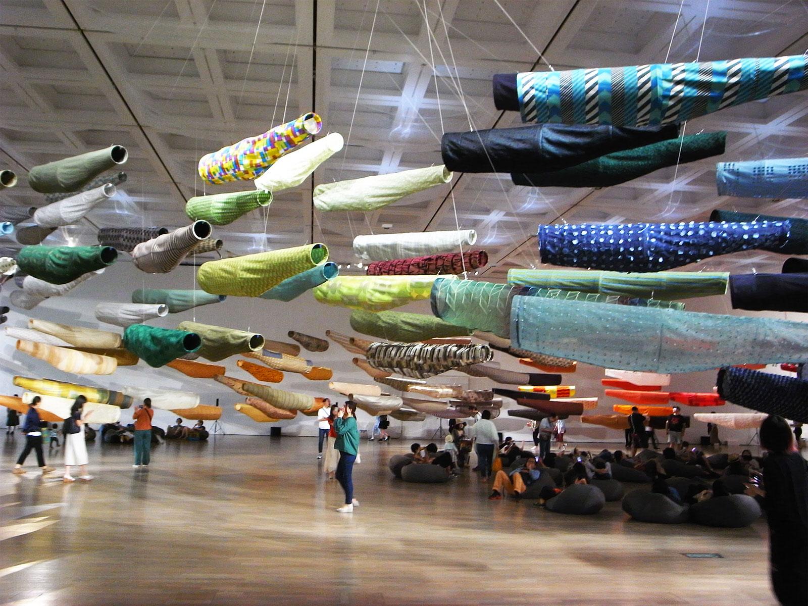 こいのぼりなう / 国立新美術館 / THE NATIONAL ART CENTER, TOKYO