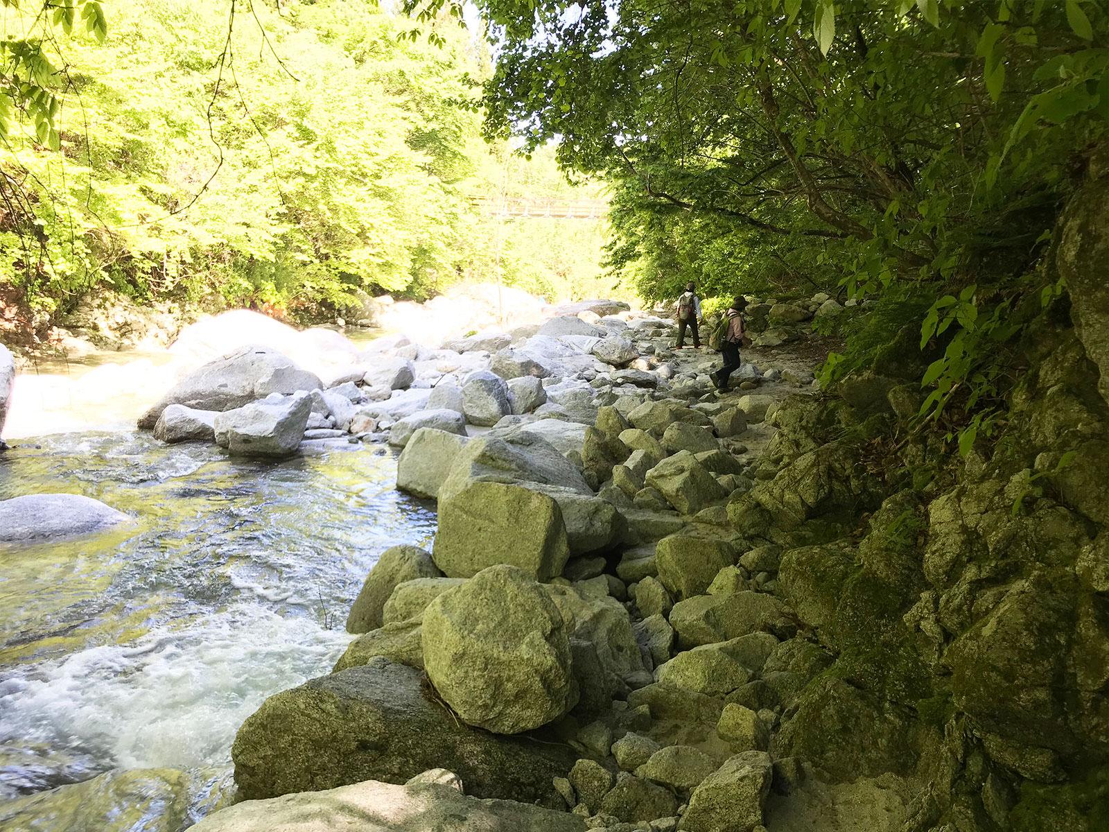 写真展と金精軒と尾白川と / Photoexhibition_Kinseiken_Ojirogawa river_2018