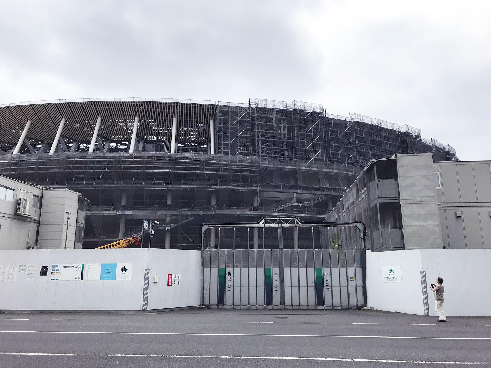 新国立競技場 2018
