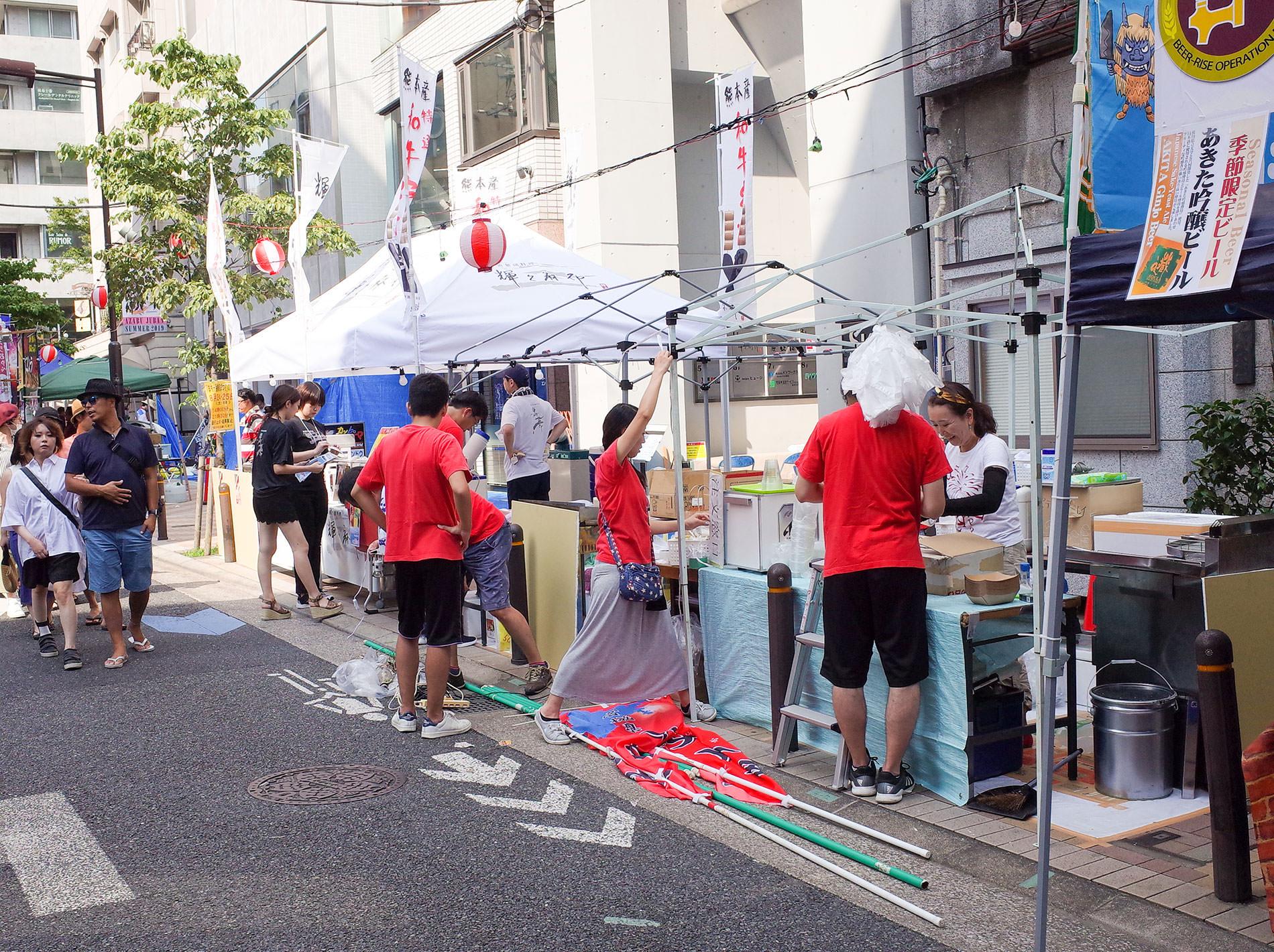 麻布十番祭り/ Azabu  Juban Summer Festiva 2019