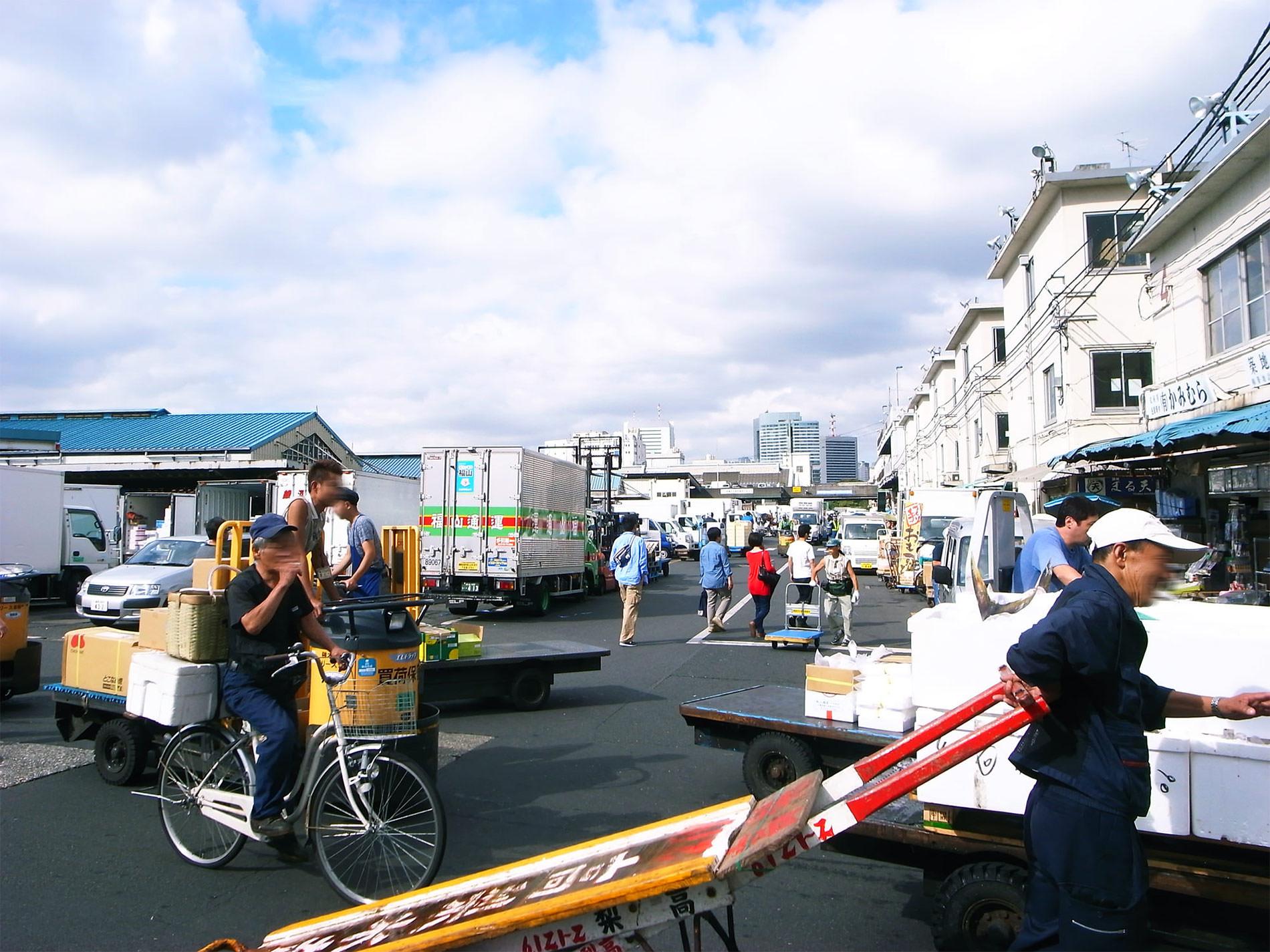 築地市場 2015   Tsukiji Market Tokyo 2015