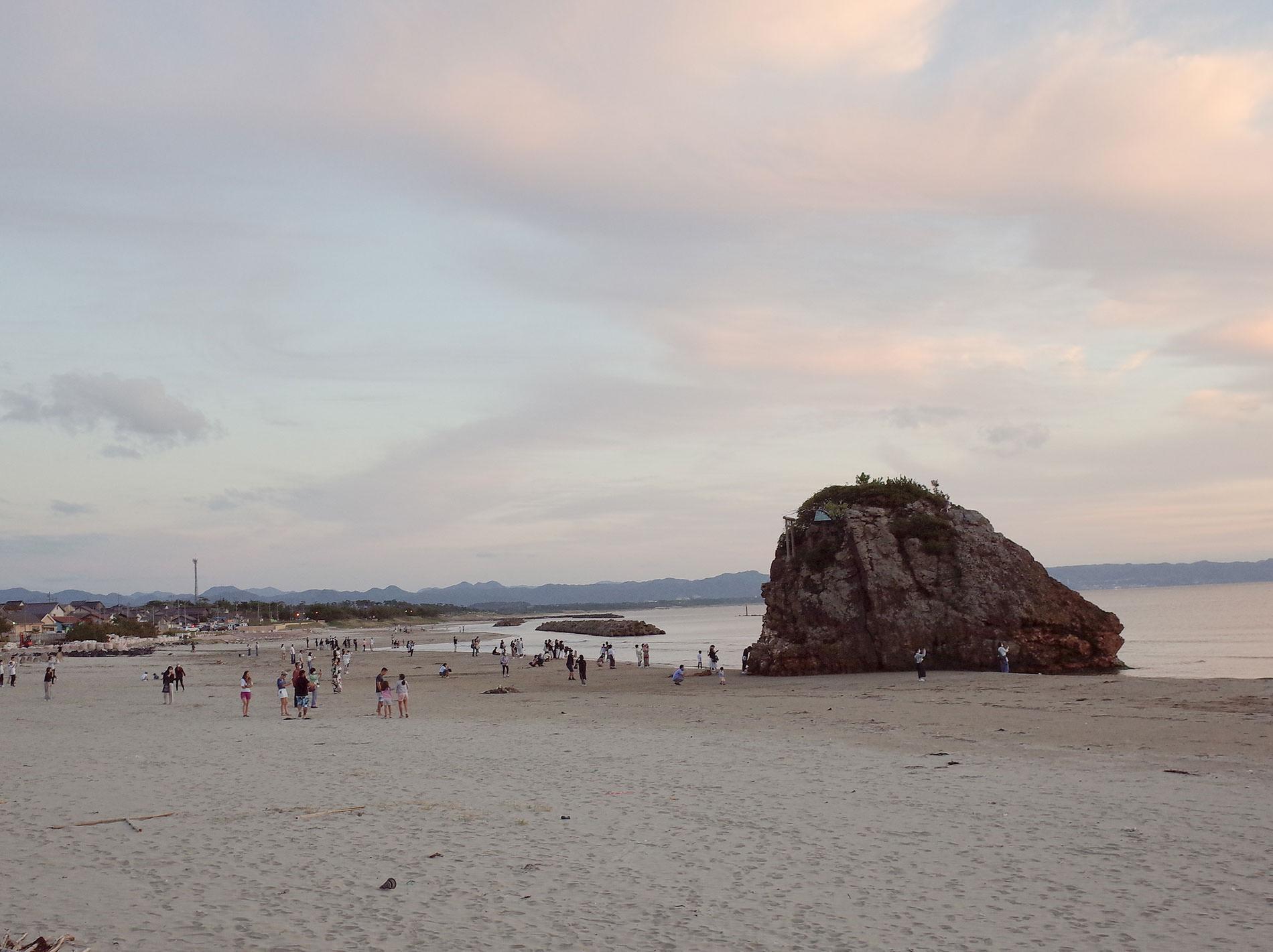 稲佐の浜_出雲旅行2020 / Inasa no hama beach in Izumo Japan 2020