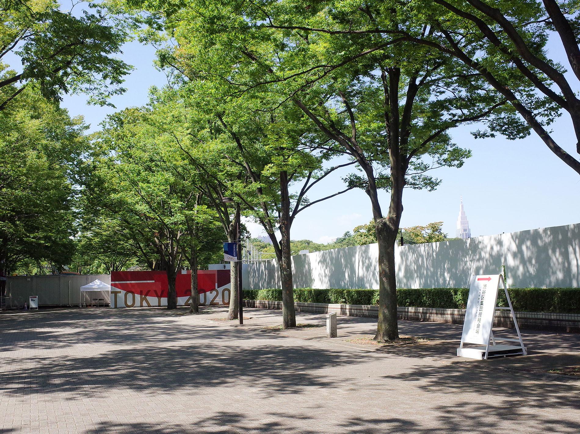 渋谷区集団摂取会場、Tokyo2020、代々木公園 | 藤本壮介 Cloud pavilion(雲のパビリオン) | パビリオン・トウキョウ2021 | Cloud pavilion in Yoyogi Park | Pavilion Tokyo 2021